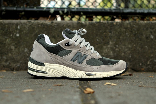 "New Balance ""Grey Speckle"" 991 