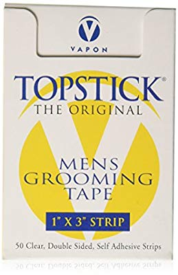 Amazon.com : Topstick Clear Hairpiece Tape (1 Roll) : Hairpieces : Beauty