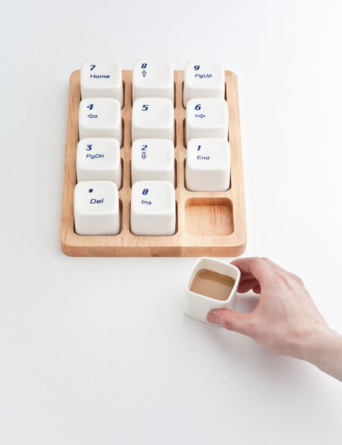 Interior design room: Keyboard Coffee Cups by E Square