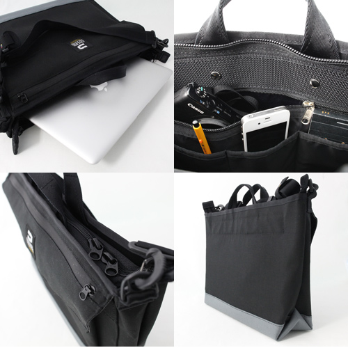 *PROFESSOR PACK BUSINESS*(S) STEAL GRAY X GRAY - 自転車 バッグの専門店 FREDRIK PACKERS
