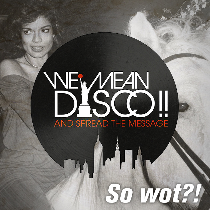 So Wot?! EP by We Mean Disco on MP3 and WAV at Juno Download