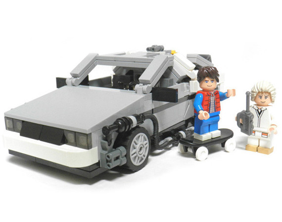 Lego x Back to the Future DeLorean Set Coming in 2013 | FreshnessMag.com