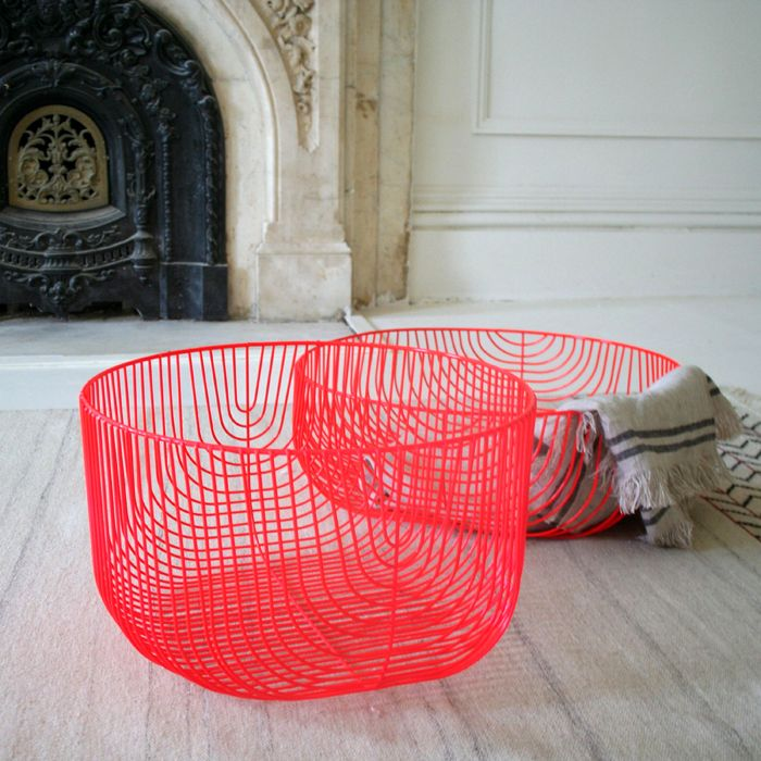 Oversized Wire Baskets | Interior Things | Pinterest