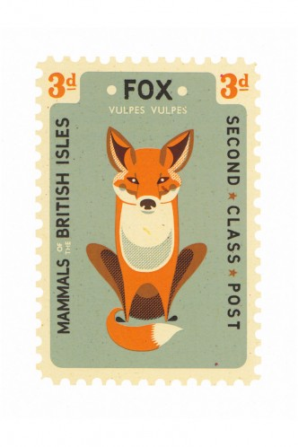 Fox Card by Tom Frost - Shop