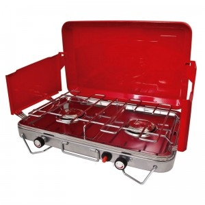 Camping Soloutions. Gas Stove with Drip Tray
