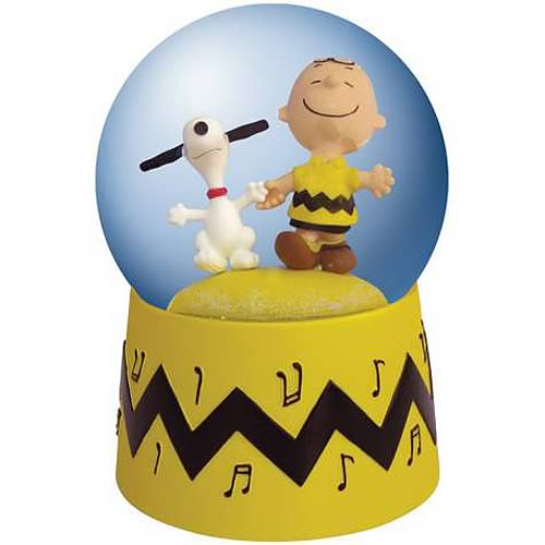 Peanuts Snoopy and Charlie Brown Animated Water Globe - Westland Giftware - Peanuts - Snow Globes at Entertainment Earth