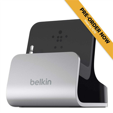 Charge + Sync Dock with AUX Port for iPhone 5 - Ships on or before 11/15 | Docks & Stands | Mobile Accessories | Products | Belkin USA Site