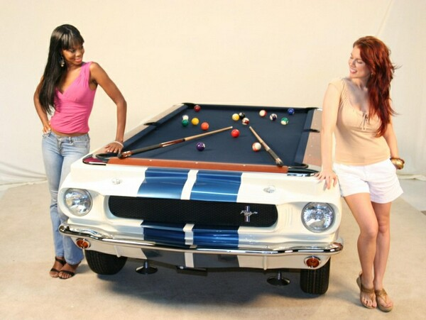 Classic Cars Inspired Pool Tables