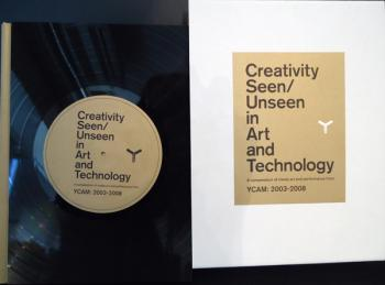 ART iT Online Store: YCAM「Creativity Seen/Unseen in Art and Technology:A compendium of media art and performance from YCAM: 2003-2008」レコード特装本