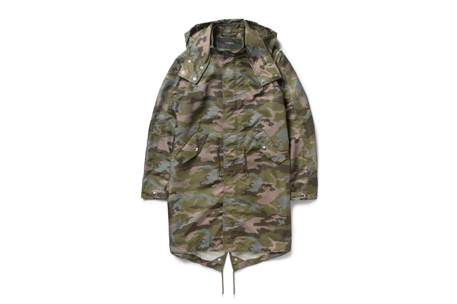 Givenchy Camouflage-Print Hooded Parka | Hypebeast