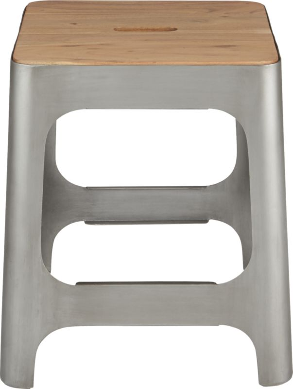 hitch raw stool in view all furniture | CB2