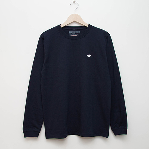 Embroidered L/S - Navy - cup and cone WEB STORE