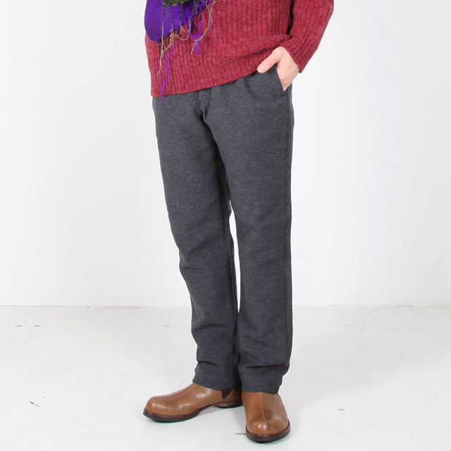 A VONTADE Wool Easy Pants - Silver and Gold Online Store