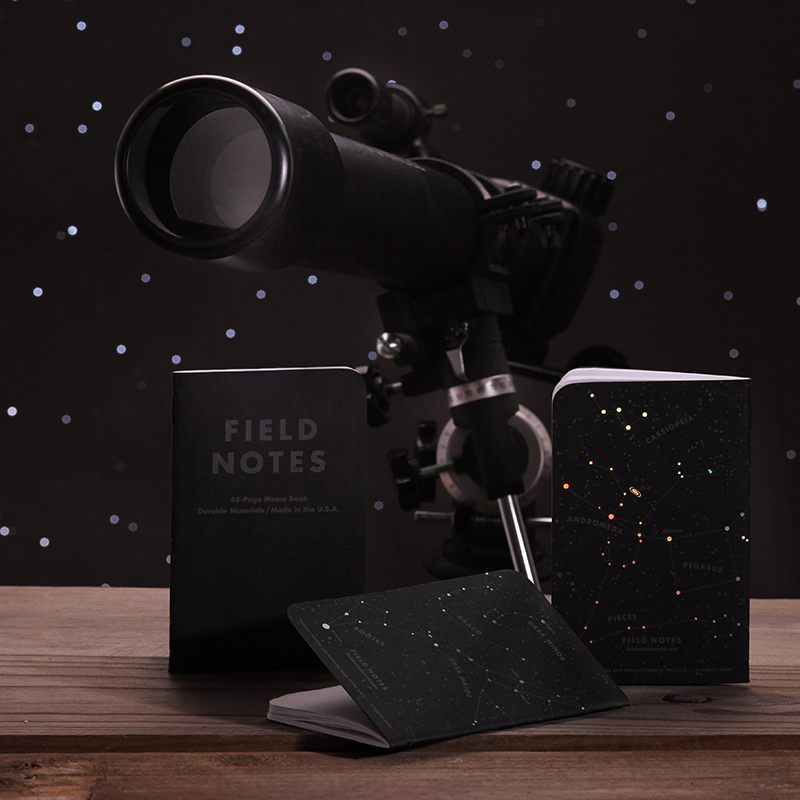 """FIELD NOTES COLORS:""""NIGHT SKY"""" EDITION"""
