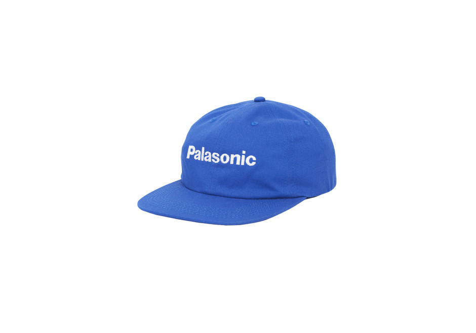 Palasonic 6 Panel Cap Royal Blue | Palace Skateboards