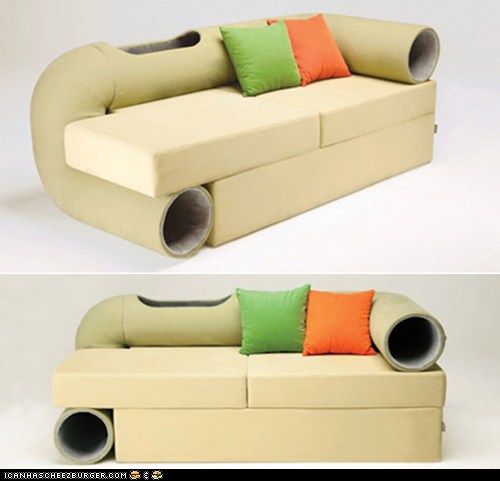 Crazy Couch for Cats - Cheezburger - BETA