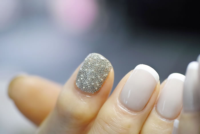 NAIL-COMMON: [Caviar]French nail