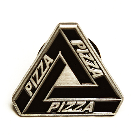 Day Waste — Pizza Lapel Pin