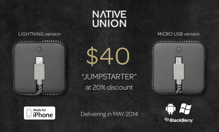 JUMP - The First Charging Solution That Fits Your Lifestyle by Native Union — Kickstarter