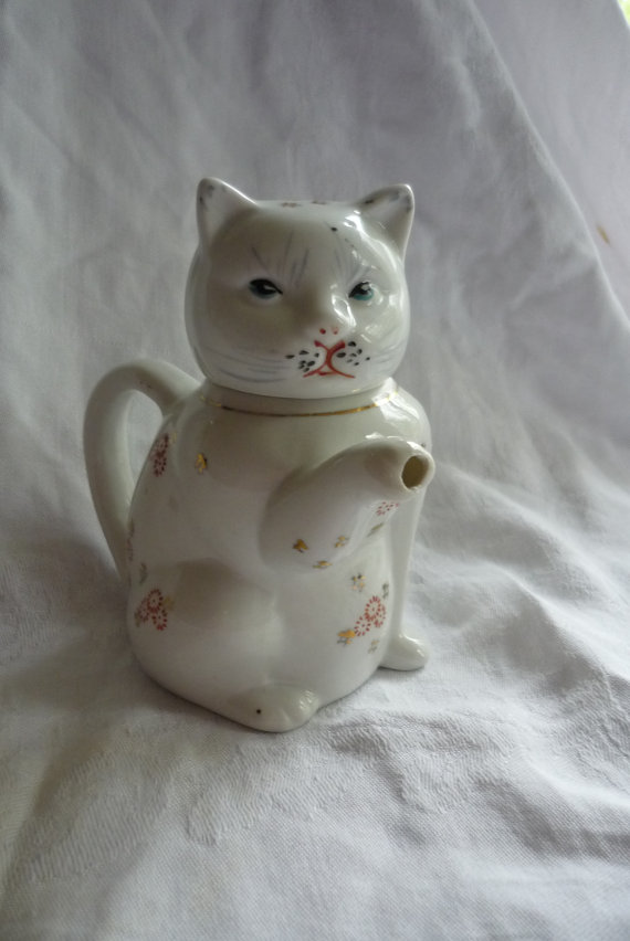 Etsy Transaction - So Cute Cat Individual Tea Pot or Creamer