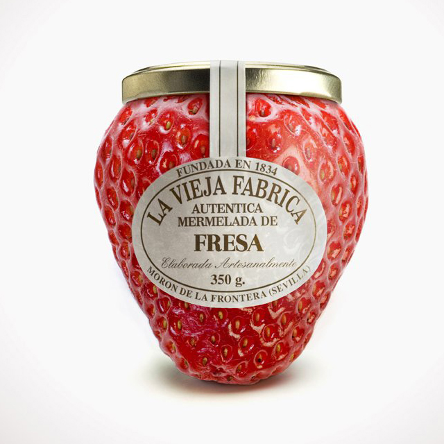 Fancy - La Vieja Fabrica Jam Bottle by Tapsa