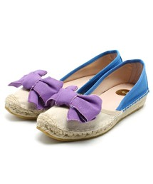 ROSE BUD / (R.A.S. SHOES) 5982B CANVAS BOW FRONT ESPADRILLE(その他シューズ) - ZOZOTOWN