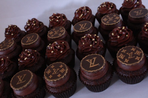 Food Is Fashionable: Louis Vuitton Cupcakes