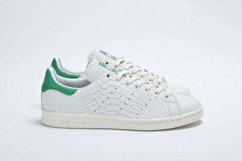 リーク! 1月25日発売 adidas Consortium Collection Reptile Leather Stan Smith