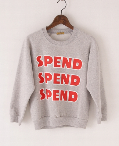 Peter JensenMini Spend Sweatshirt Toffee/トフィー Palm maison store