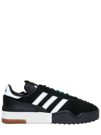 ADIDAS ORIGINALS BY ALEXANDER WANG AW BBALL SOCCER SUEDE BOOST SNEAKERS