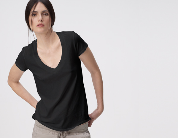 RELAXED V-NECK - WOMEN - James Perse - WMJ3930