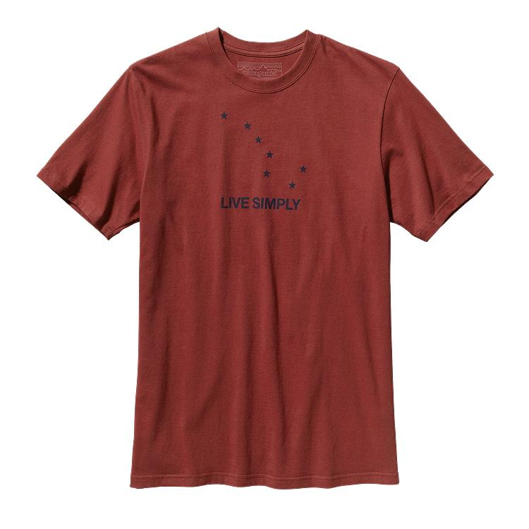 Patagonia Men's Live Simply® Dipper Cotton T-Shirt