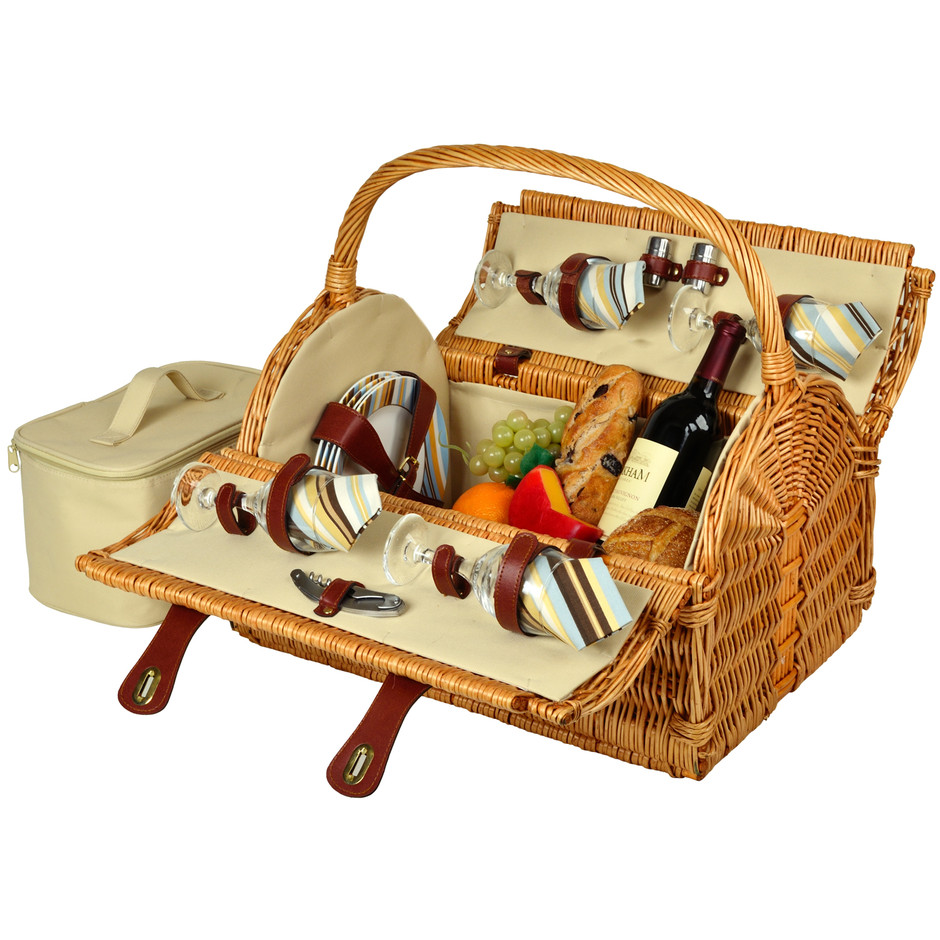 Yorkshire Picnic Basket for Four - Picnic At Ascot