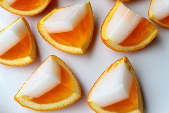 food / Candy Corn Jello Shots!