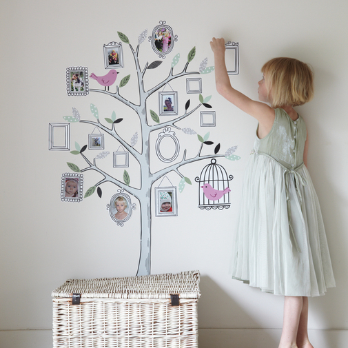 Family Tree Wall Sticker — Cox & Cox, the difference between house and home.