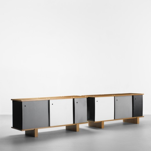 140: Charlotte Perriand / Bloc cabinets, pair < Important Design, 09 June 2011 < Auctions | Wright