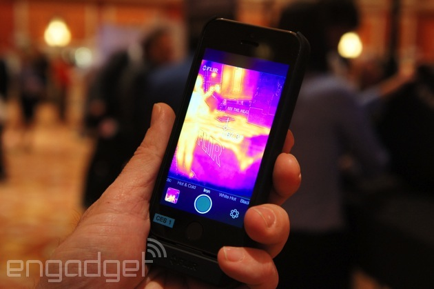 This case turns your iPhone into a night vision camera