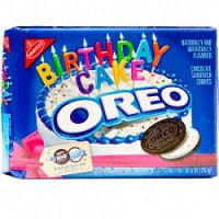 Oreo 100th Birthday Cake Cookies (Pack of 2): Amazon.com: Grocery & Gourmet Food