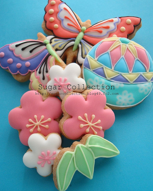 Japanese style cookies | Flickr - Photo Sharing!