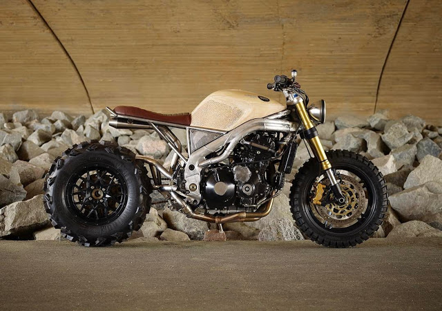 """Ottonero Cafe Racer: The biggest """"Thing"""" / Classified moto"""