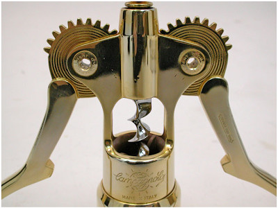 Dinosaurs and Robots: Storied Bicycle Maker Campagnolo Produced Gold Corkscrews in 1974