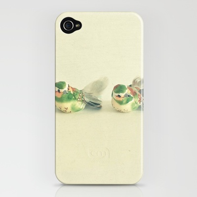 Five Little Birds iPhone Case by Cassia Beck   Society6