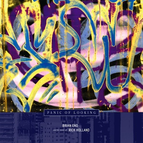Amazon.co.jp: PANIC OF LOOKING - BRIAN ENO AND THE WORDS OF RICK HOLLAND [解説付・ボーナストラック収録 / 国内盤] (BRE39): BRIAN ENO, ブライアン・イーノ: 音楽