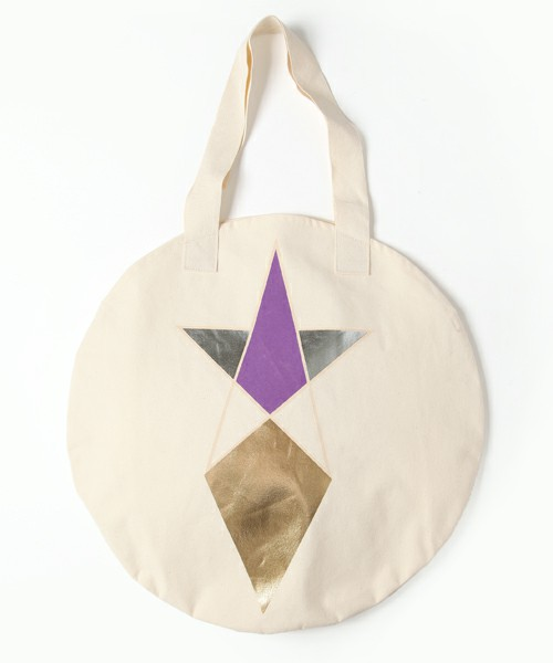 COSMIC WONDER Light Source ACCESSORIES / PENTAGRAM PRINT CIRCLE TOTE BAG (ZOZOTOWN / CWLS STORE LIMITED)(エコバッグ) - ZOZOTOWN