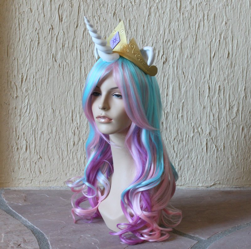 Unicorn and 'My Little Pony' Costume Wigs and Tails