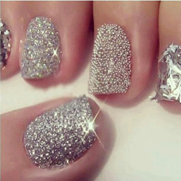 glitter nails | beauty and hair inspirations | Pinterest