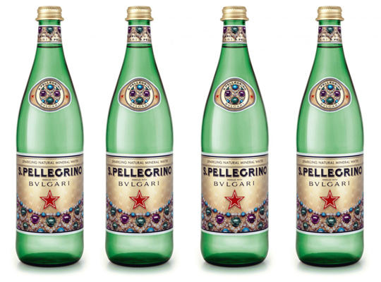 San Pellegrino Meets Bulgari Limited Edition Bottle | Highsnobiety.com
