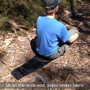 QwikBack™ Ultralight Backpacking Chair | Litesmith