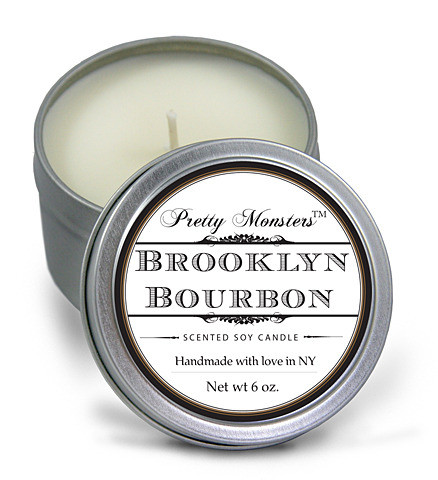 Pretty Monsters™ New York - Brooklyn Bourbon Soy Candle