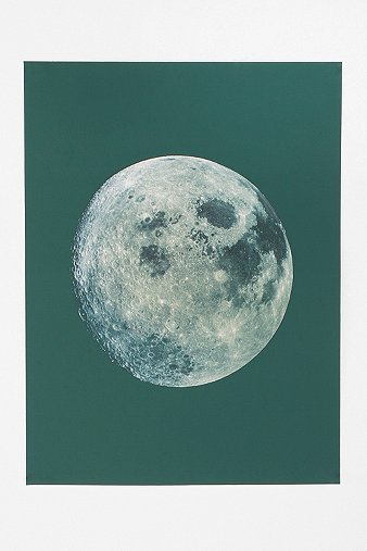 Full Moon Poster - Urban Outfitters